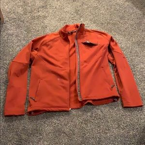 Helly Hansen pullover Burnt orange color